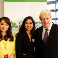 CFOC event with Mayor Boris Johnson & Annie Yi